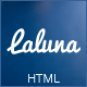 Laluna - Responsive Coming Soon Template - ThemeForest Item for Sale