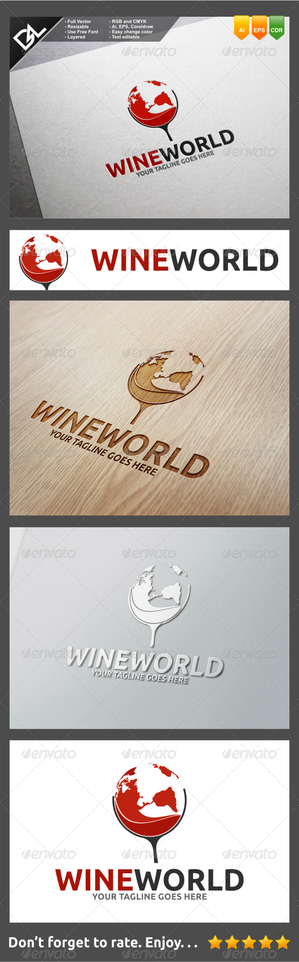GraphicRiver Wine World 8292335