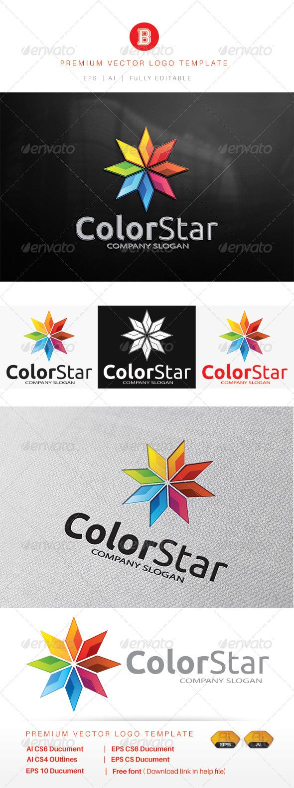GraphicRiver Color Star 8292340