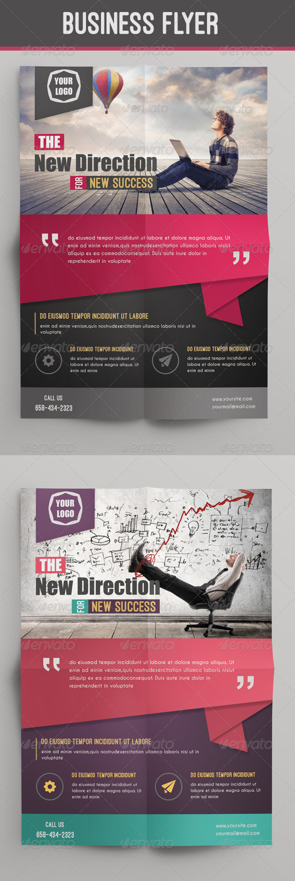GraphicRiver Business Flyer 8292394