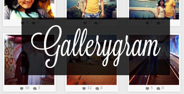 CodeCanyon Gallerygram 7549360