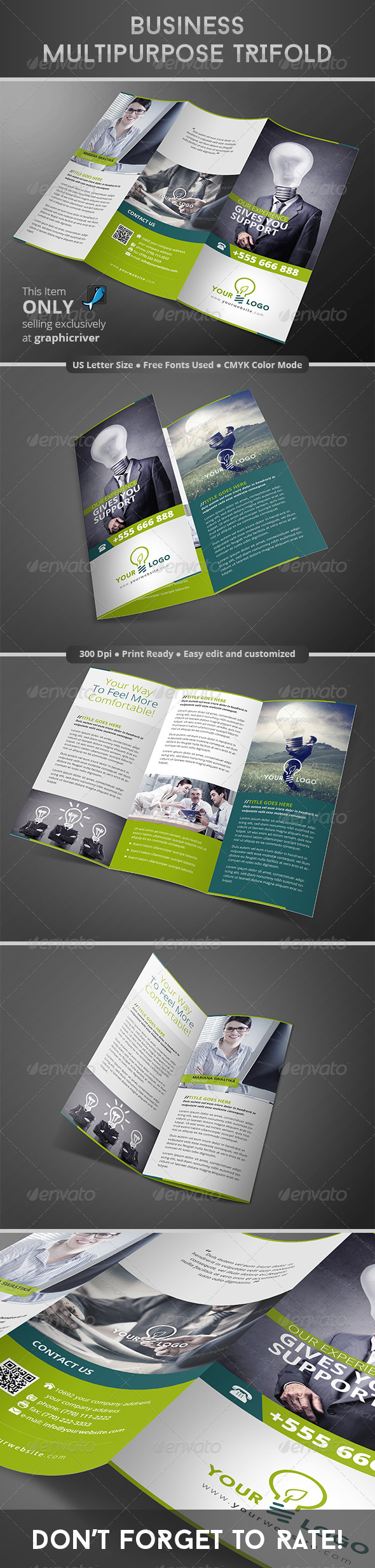 GraphicRiver Business Multipurpose Trifold 8292476