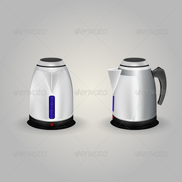 GraphicRiver Illustration of Electric Kettles 8292687