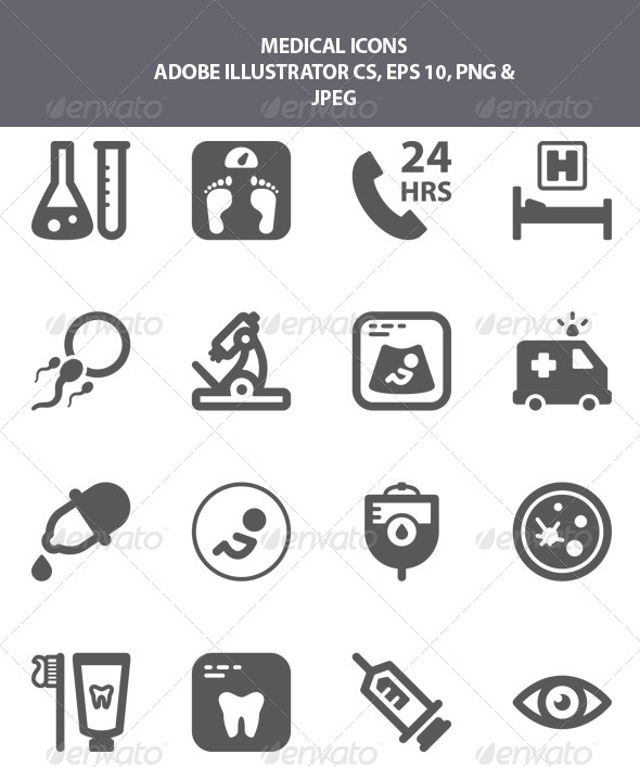 GraphicRiver Medical Icons 8292711