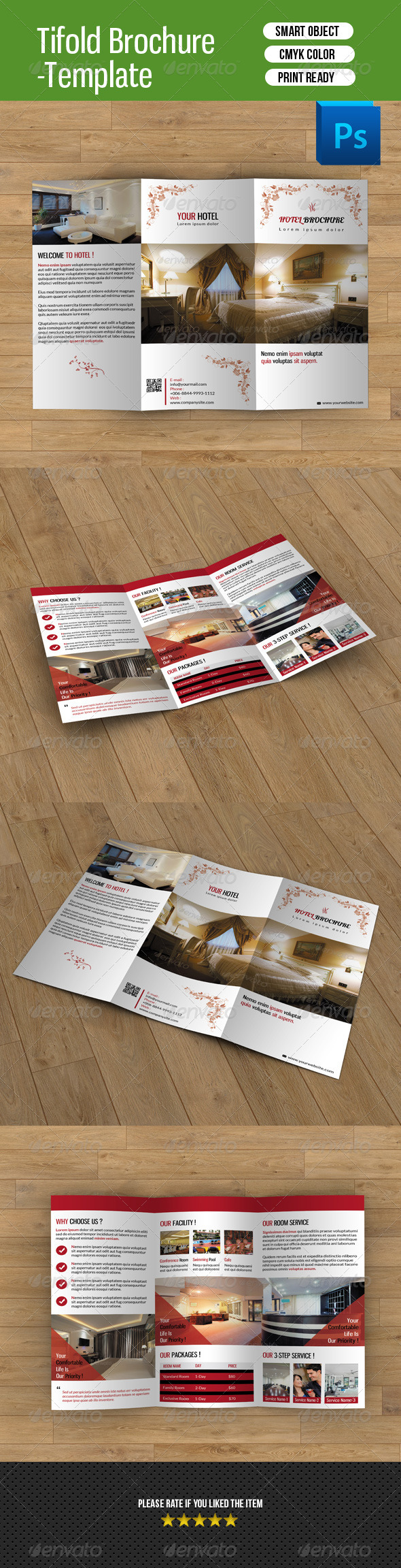 GraphicRiver Hotel Business Trifold-V34 8292759