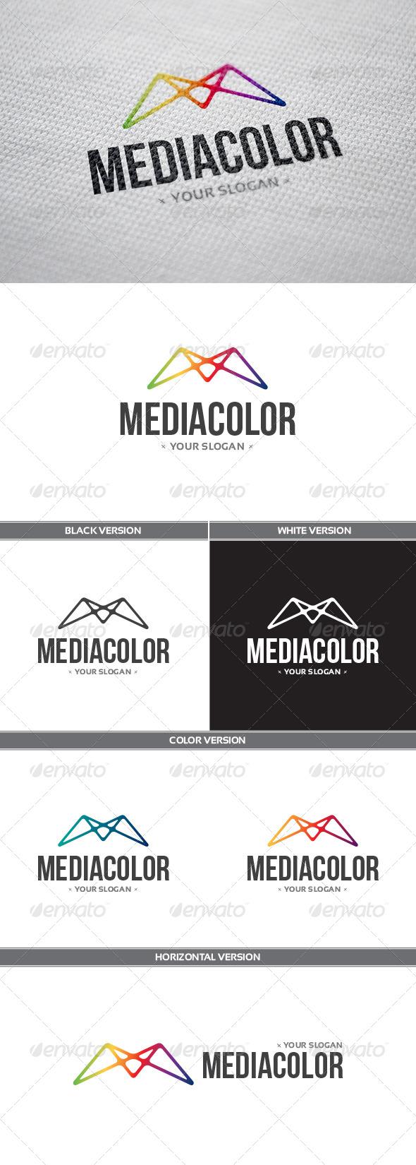 GraphicRiver MediaColor Logo 8292969