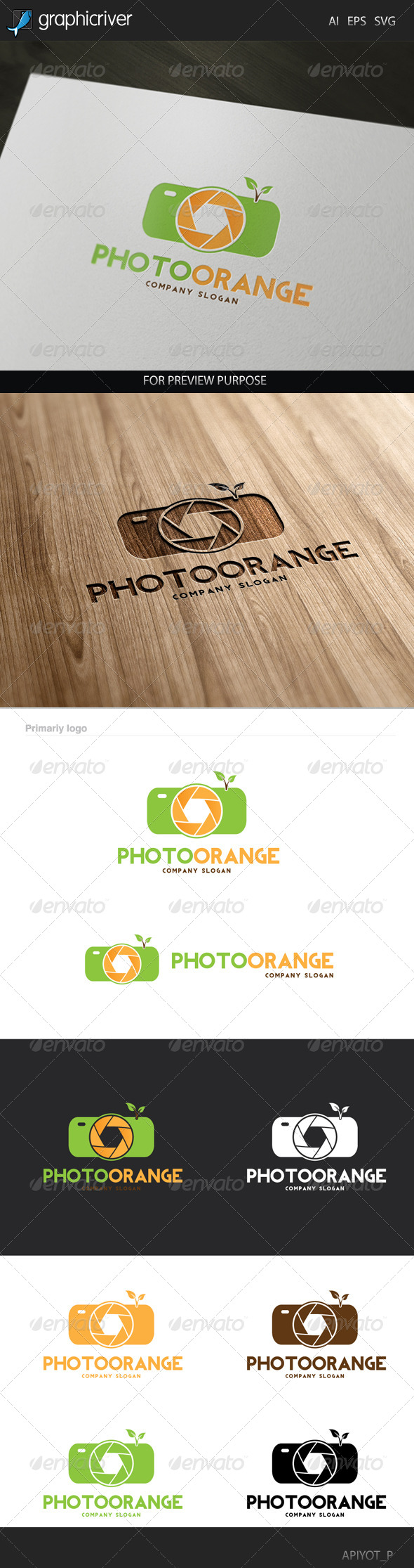 GraphicRiver Photo Orange Logo 8293120