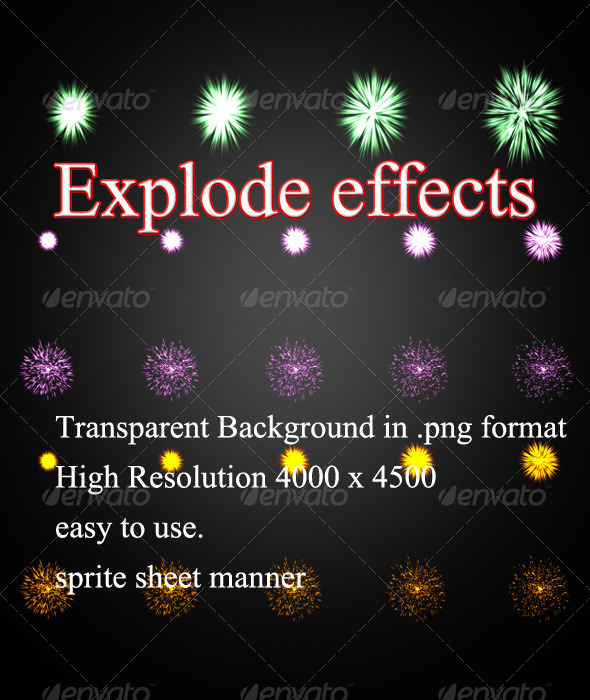 GraphicRiver Explode Effects 8293324