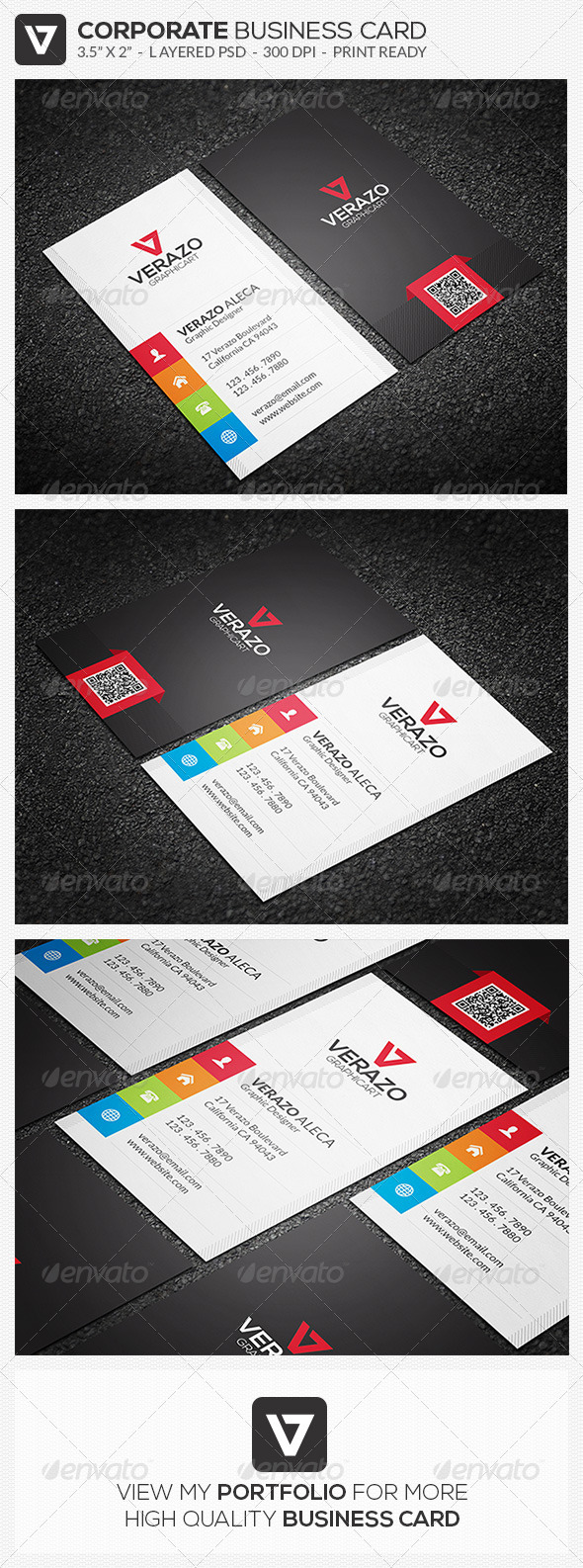 GraphicRiver Creative Business Card 49 8293396