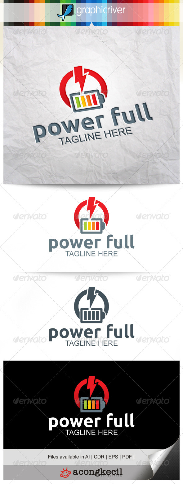 GraphicRiver Power Full V.2 8293475