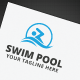 Swim Pool Logo - GraphicRiver Item for Sale