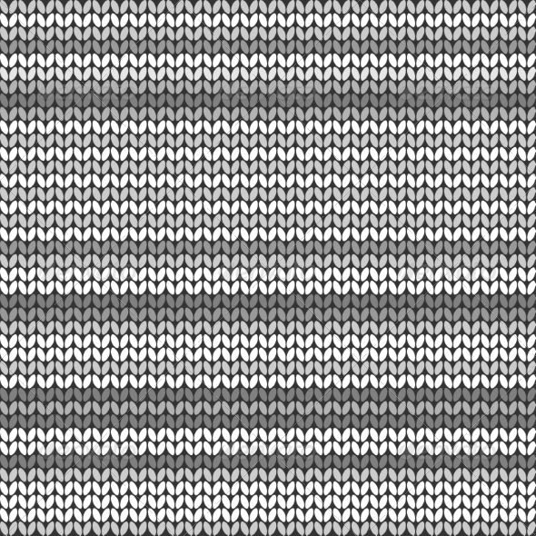 GraphicRiver Gray Striped Knitted Background 8293502