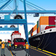 Shipping Port Scene - GraphicRiver Item for Sale
