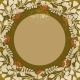 Vintage Floral Circular Frame - GraphicRiver Item for Sale
