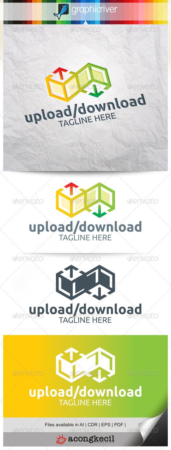 GraphicRiver Upload Download 8293809