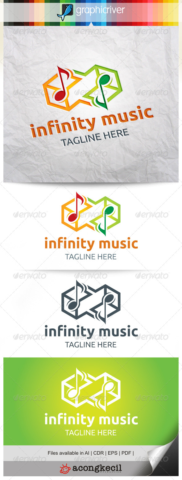 GraphicRiver Infinity Music 8293839
