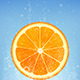 Orange in Water - GraphicRiver Item for Sale