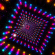 VJ Dancing Colorful Neon Light Tunnel - VideoHive Item for Sale