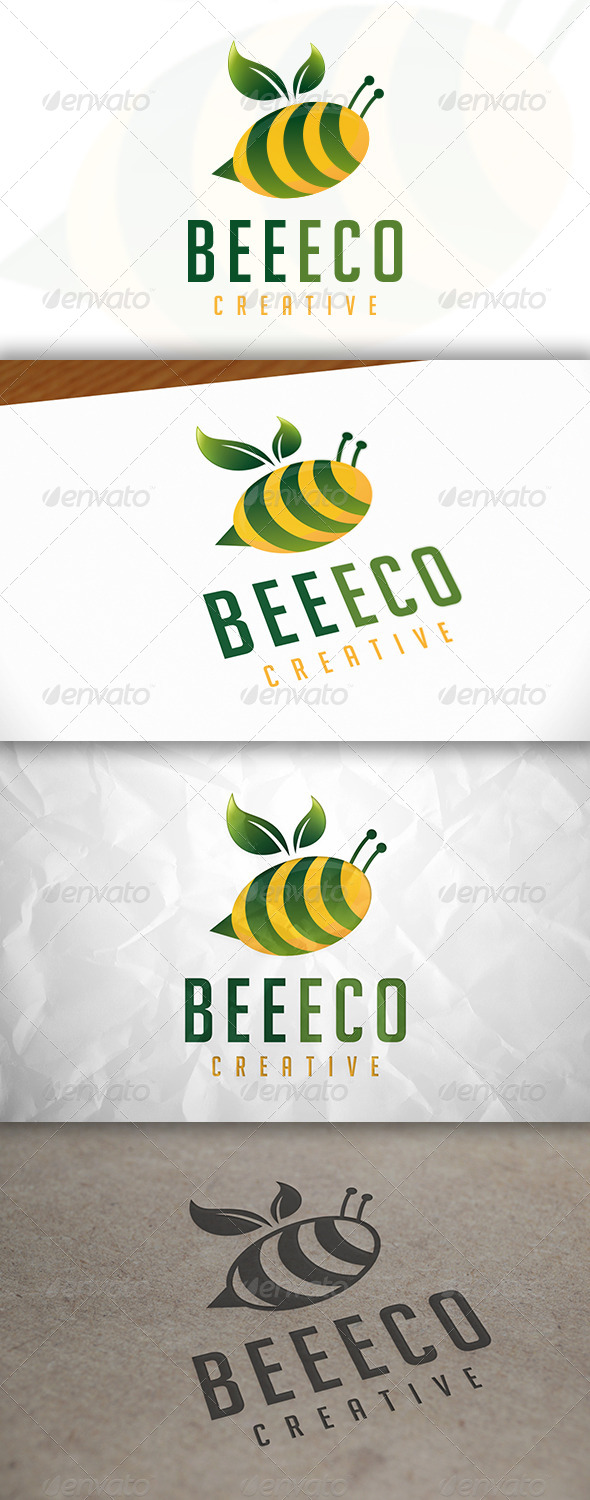 GraphicRiver Bee Eco Logo 8294175