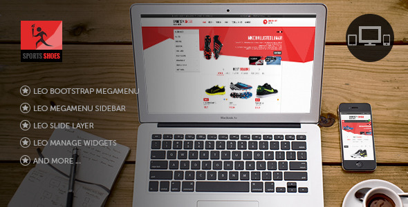 Leo Football Wear Prestashop Theme Download