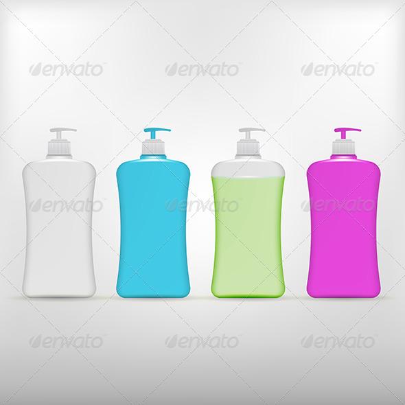 GraphicRiver Illustration of Liquid Soap 8294400