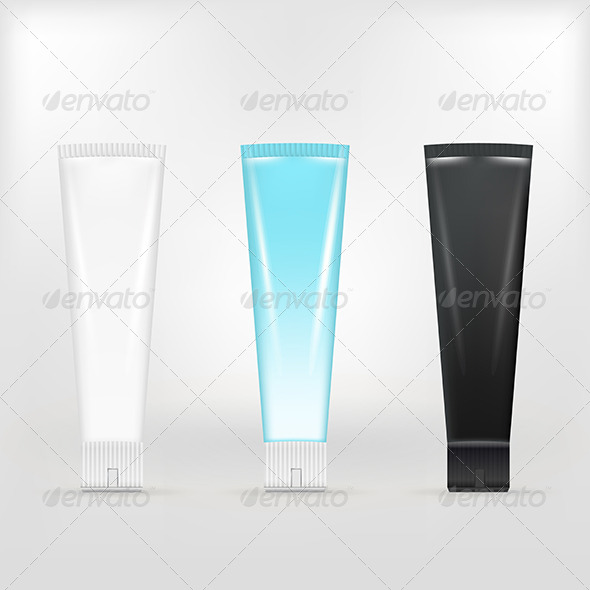 GraphicRiver Illustration of Tubes of Cream 8294407