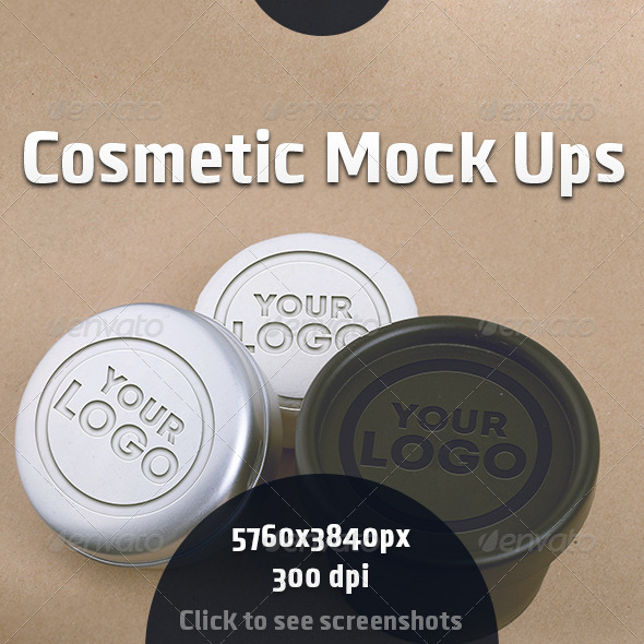 GraphicRiver Cosmetic Mock Ups 8294414