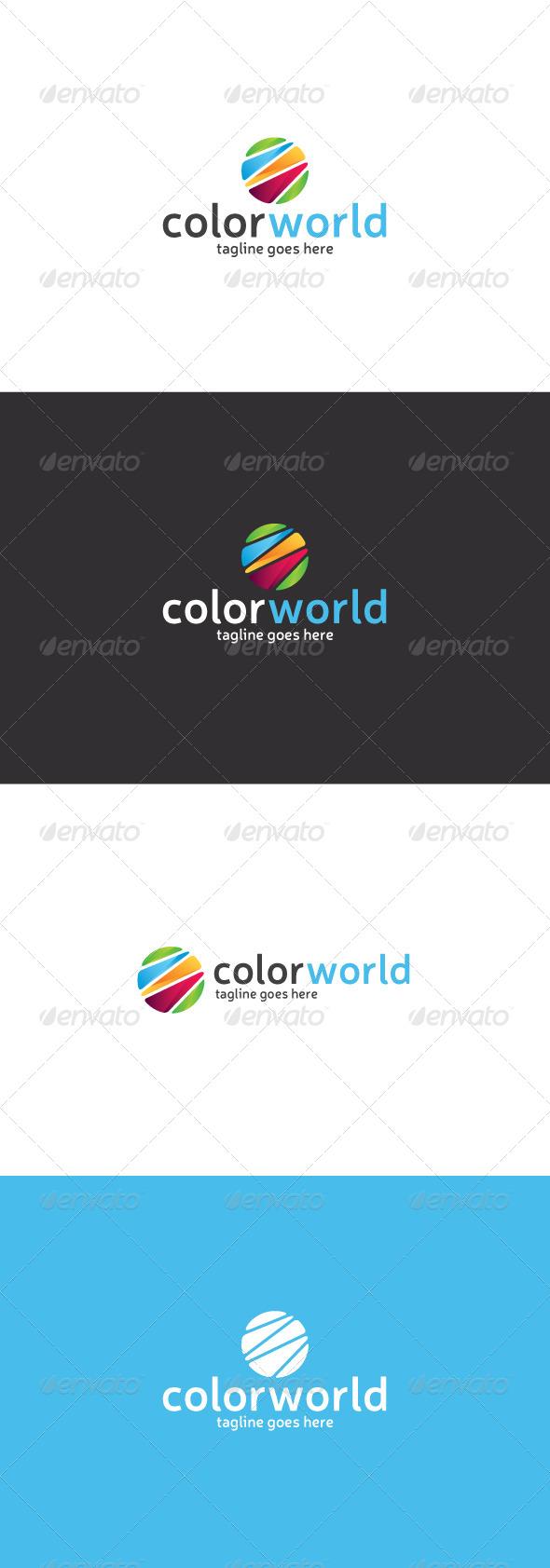 GraphicRiver Color World Logo 8294641