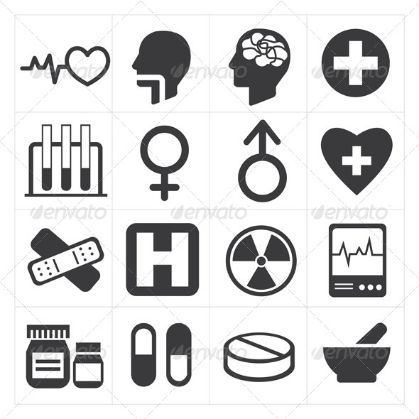 GraphicRiver Medical Icons 8294793