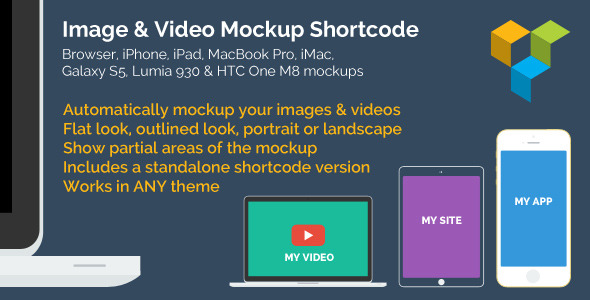CodeCanyon Image & Video Device Mockups Shortcode 8269855