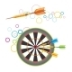 Darts with Dartboard - GraphicRiver Item for Sale