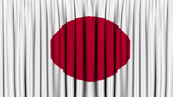 Japan Curtain Open