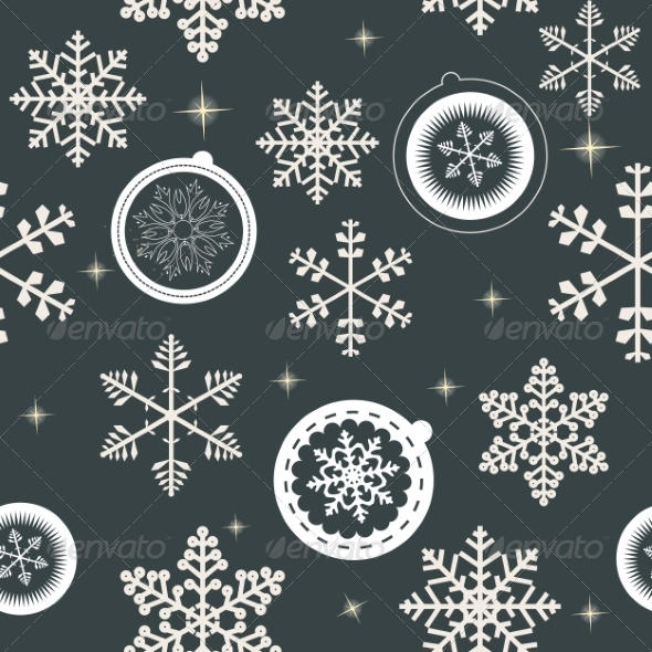 GraphicRiver Winter Christmas New Year Seamless Pattern 8294996