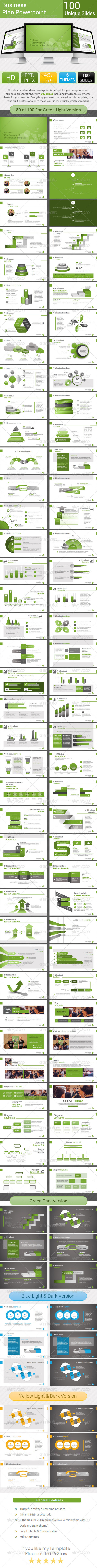 GraphicRiver Business Plan Powerpoint Template Vol.2 8295011