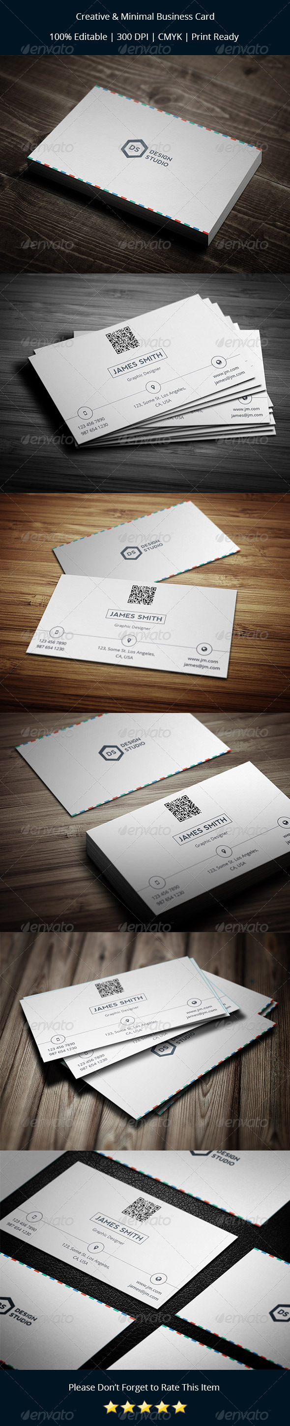 GraphicRiver Creative & Minimal Business Card 8273587