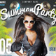 Summer Beach Flyer Event - GraphicRiver Item for Sale