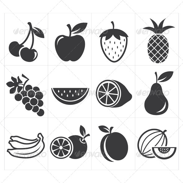 GraphicRiver Icon Fruit 8295162
