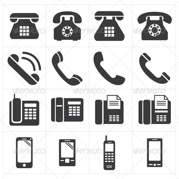 Icon Telephone Classic to Smartphone