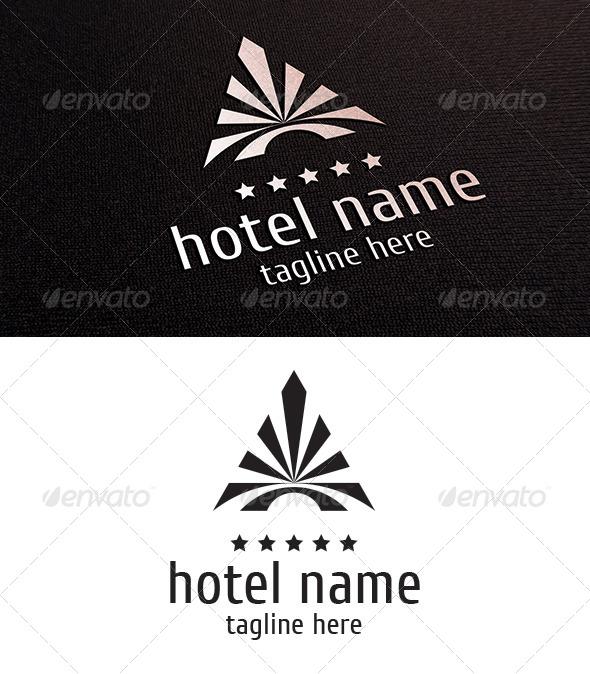 GraphicRiver Hotel Logo 8295197