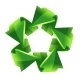 Five Green Recycling Arrows - GraphicRiver Item for Sale