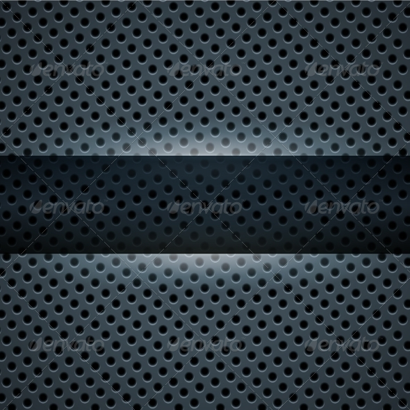 GraphicRiver Dark Blue Metal Background 8295301