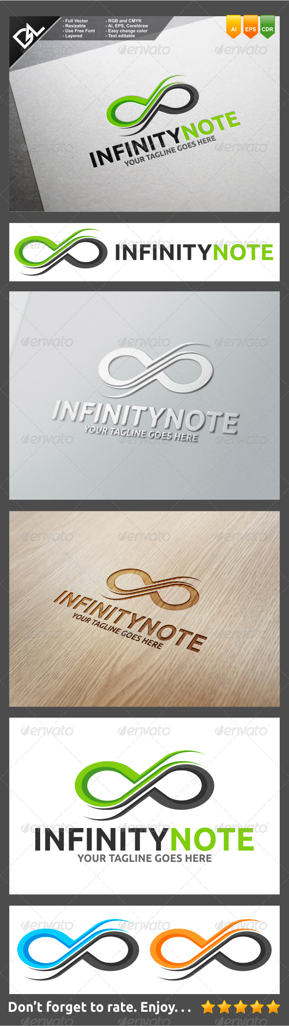 GraphicRiver Infinity Note 8295314