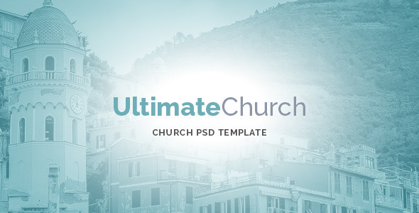 Ultimate Church PSD Template - Churches Nonprofit
