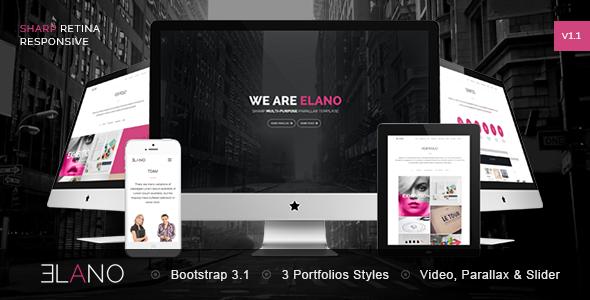 Elano - Sharp Multi-Purpose Responsive Template