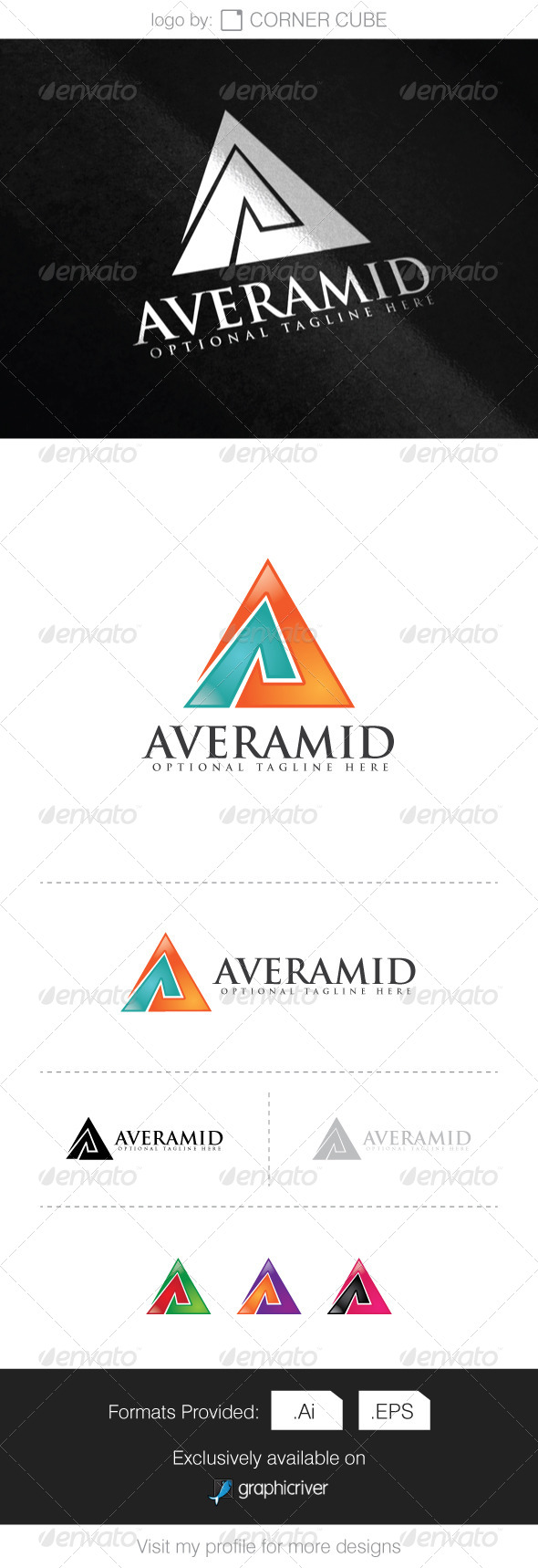GraphicRiver Averamid Logo 8295472