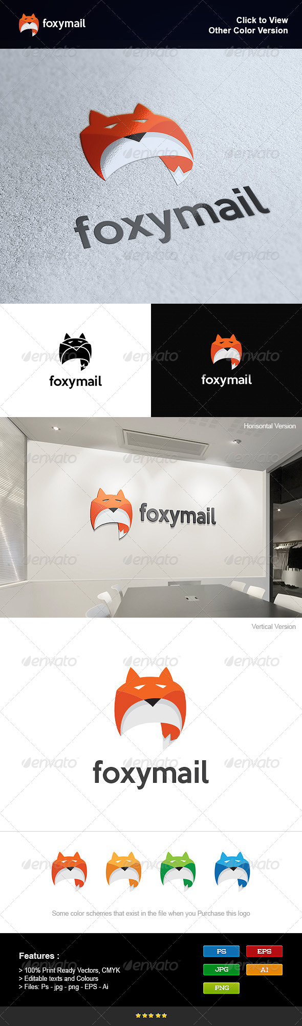 GraphicRiver Email and Fox 8295511