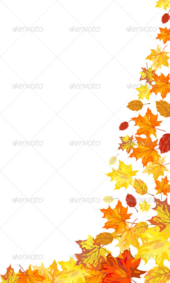 GraphicRiver Autumn Maple Leaves 8295682