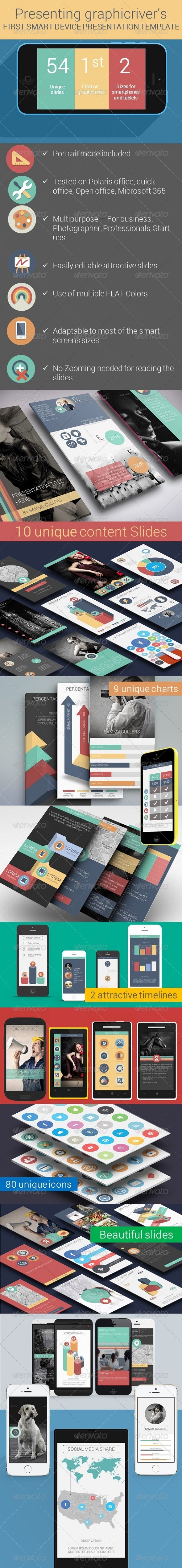 GraphicRiver Flat Smart Device Presentation Template 8255219