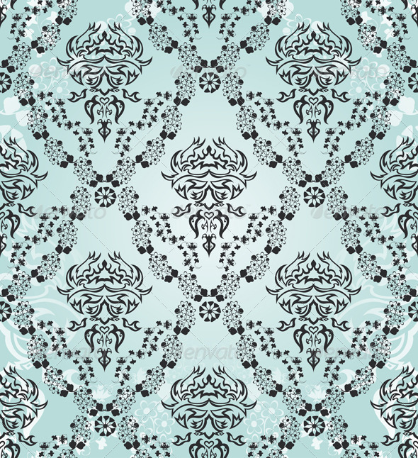 GraphicRiver Damask Seamless Pattern 8295757