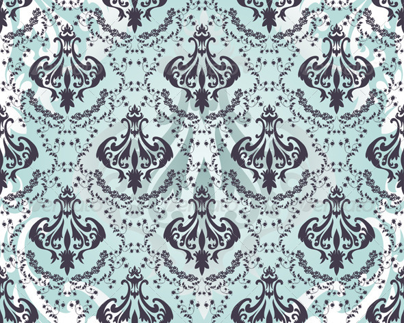 GraphicRiver Damask Seamless Pattern 8295785